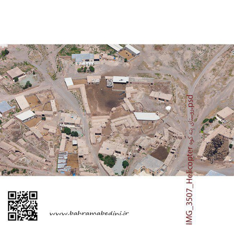aerial photography of villages